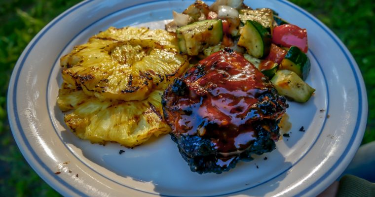 Tropical BBQ Chicken and Veggies