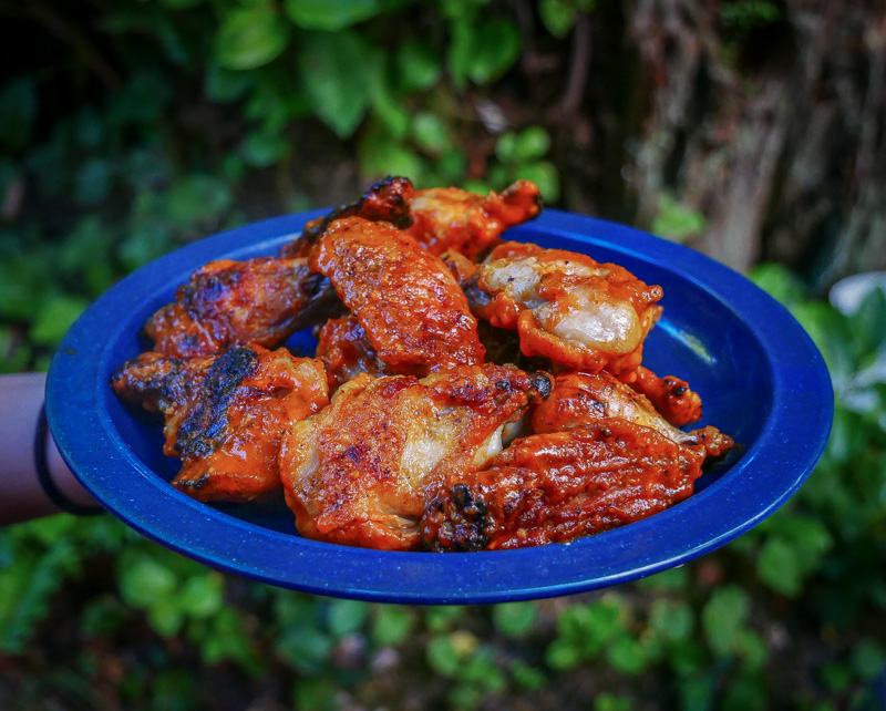 Campfire Buffalo Wings