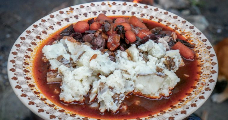 Dutch Lovin': Coq au Vin w/ Garlic Mashed Potatoes